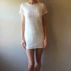 LULU'S Love You For Eternity Lace Dress!